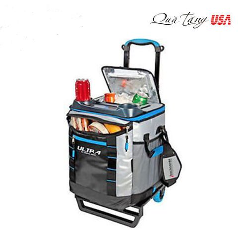 Vali giữ lạnh Titan Deep Freeze Collapsible Rolling Cooler