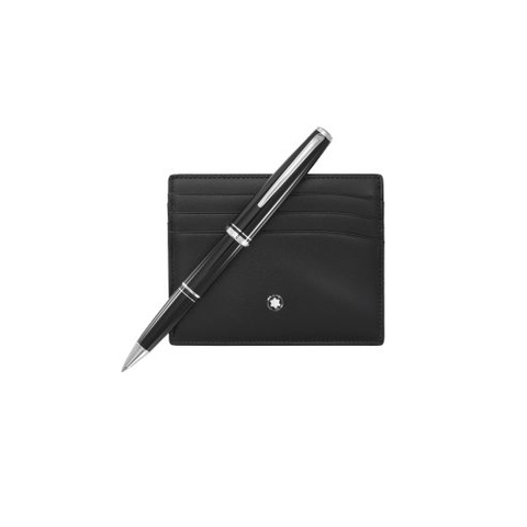 MontBlanc  Classic ballpoint pen & pocket holder 6