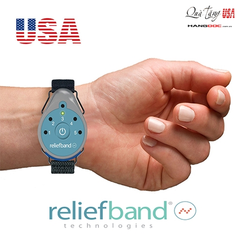 Thiết bị chống say tàu xe, say sóng - ReliefBand for Motion & Morning Sickness