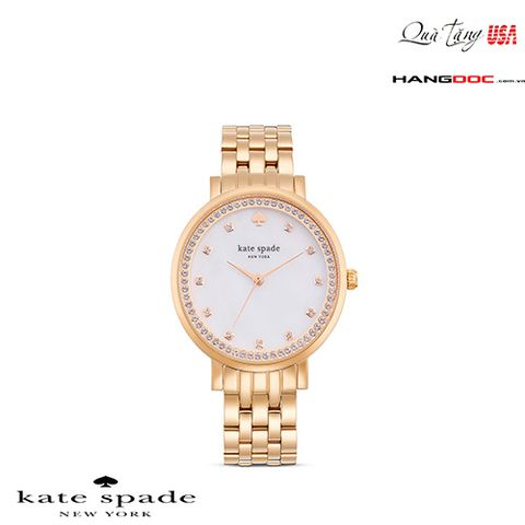Đồng hồ nữ - Kate spade watch Monterey rose gold ladies