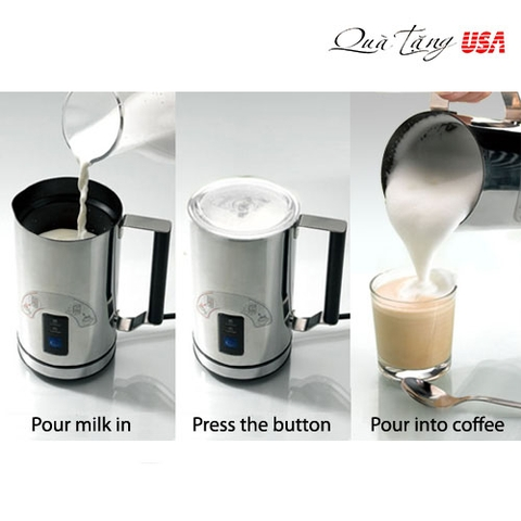Bình đánh sữa CAFE tạo bọt Kuissential Deluxe Automatic Milk Frother