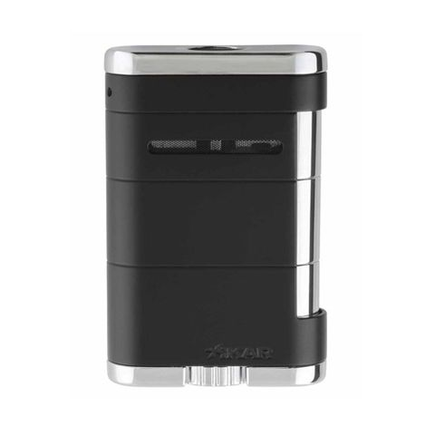 Hộp quẹt Xikar Tuxedo Black Allume Tabletop Lighter