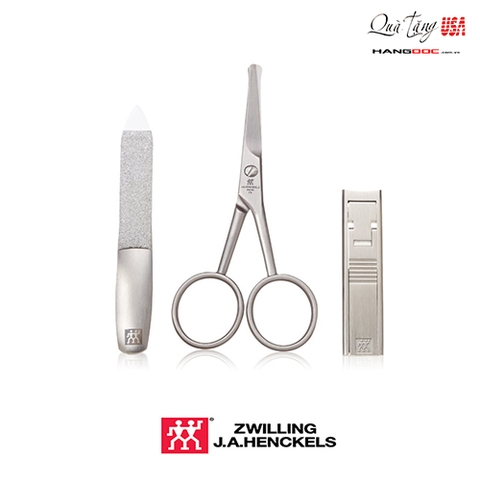 Zwilling J.A. Henckels Twinox Mountain 3-Piece Grooming Set