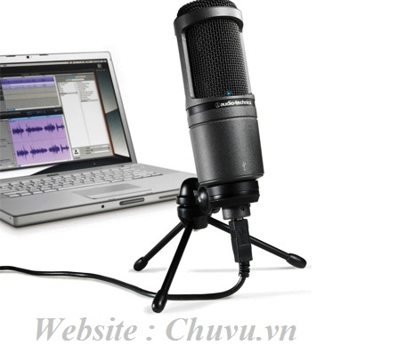 Micro thu âm Audio Teachnica 2020 USB