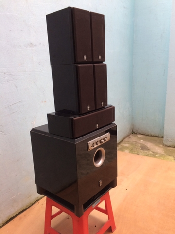 Bộ Loa 5.1 Yamaha 430P, Cs 30-100W, Made in Indonesia