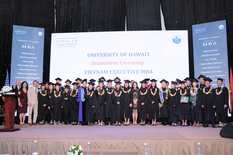 Education - Vietnam Executive MBA Graduation Ceremony 2015