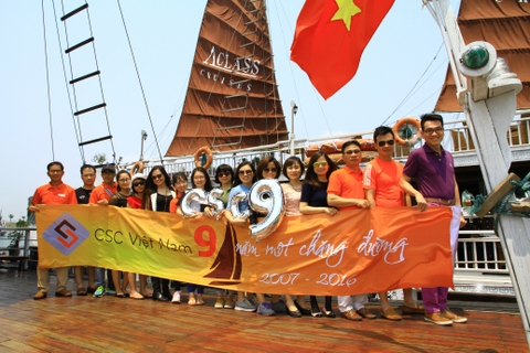 Company trip to Halong Bay