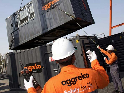 Aggreko power generation step by step
