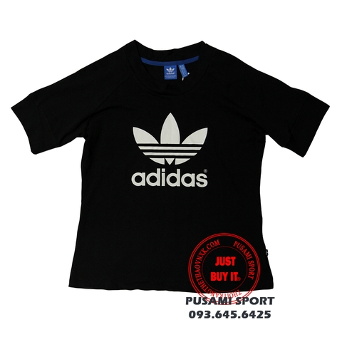 Áo Adidas train snap tee AJ8905