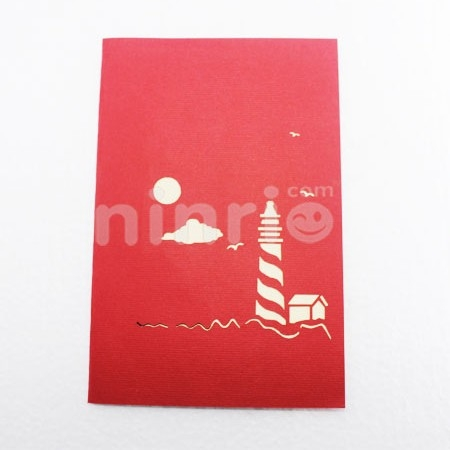 LIGHTHOUSE CARD/GREETING CARD/ CONGRATULATIONS CARD