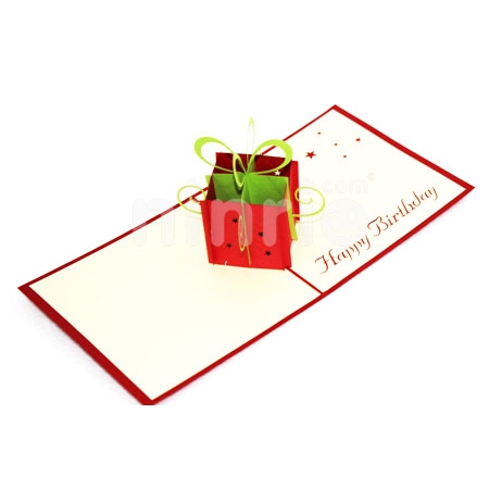 GIFT BOX 2-3D CARD/POPUP/BIRTHDAY CARD