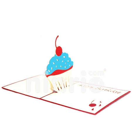 CAKE 2-3D CARD/POPUP/BIRTHDAY CARD