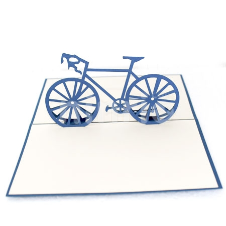 RACING BIKE-3D CARD/POPUP/SPORT CARD