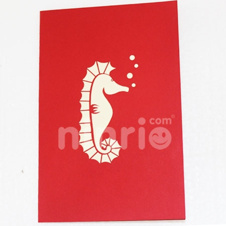MERMAID-3D CARD/POPUP/BIRTHDAY CARD