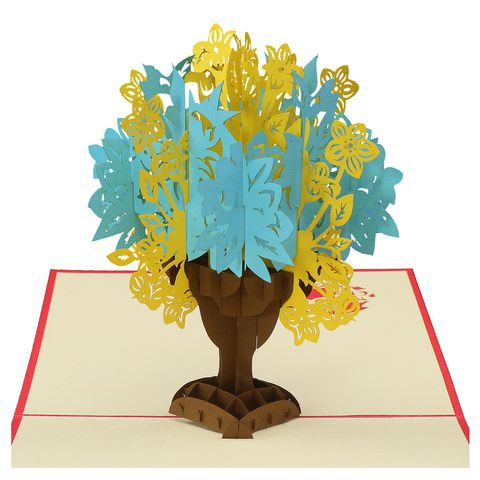 ORNATE FLORAL BOUTIQUE-3D CARD/POPUP/CONGRATULATIONS CARD/ BIRTHDAY CARD/ GREETING CARD