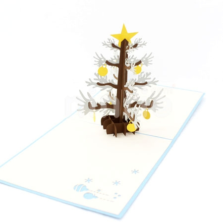 CHRISTMA TREE-3D CARD/POPUP CARD/CHRISTMAS CARD