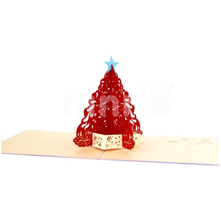 CHRISTMAS TREE-3D CARD/POPUP CARD/CHRISTMAS CARD