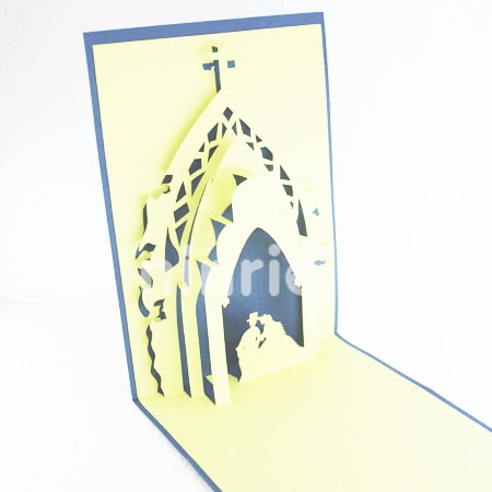 WEDDING2-3D CARD/POPUP CARD/LOVE AND WEDDING CARD