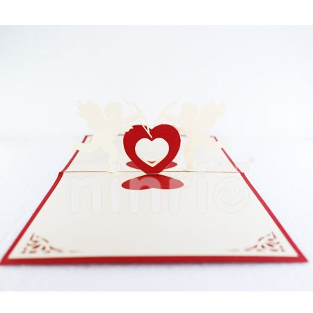 ANGEL BABY-3D CARD/POPUP CARD/LOVE AND WEDDING CARD