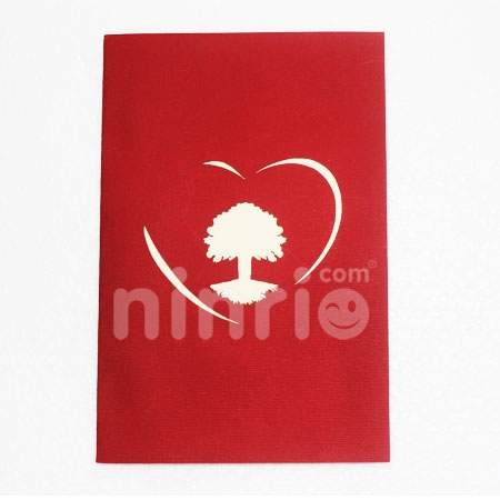 TREE-3D CARD/POPUP/CONGRATULATIONS CARD