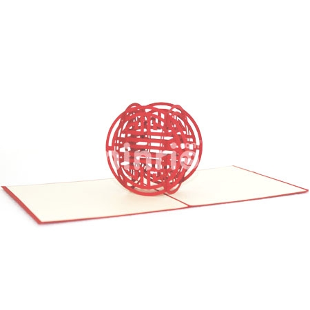 HAPPY-3D CARD/POPUP CARD/LOVE AND WEDDING CARD