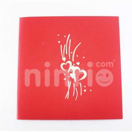 WEDDING 4-3D CARD/POPUP CARD/LOVE AND WEDDING CARD