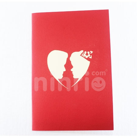 HAPPY WEDDING-3D CARD/POPUP CARD/LOVE AND WEDDING CARD