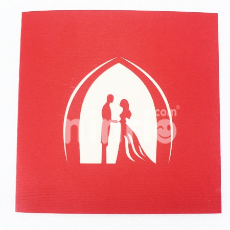 WEDDING 9-3D CARD/POPUP CARD/LOVE AND WEDDING CARD