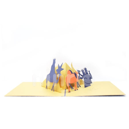 KING-3D CARD/POPUP/CONGRATULATIONS CARD