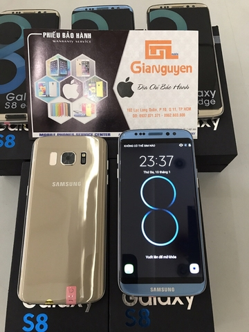 Samsung Galaxy S8 Edge Đài Loan