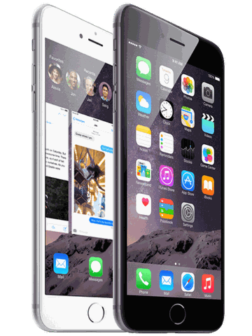 Iphone 6 Plus 64Gb Silver - Grey FPT