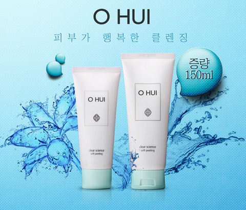 Tẩy da chết ohui Clear scien ce 100ml + 50ml