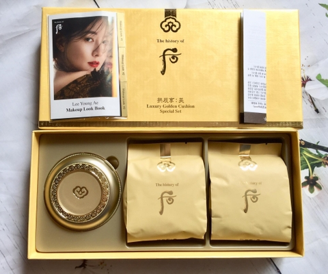 Phấn nước Whoo Luxury Golden Cushion SPF50/PA+++