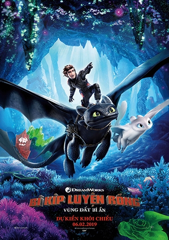 How to Train Your Dragon: The Hidden World (2019) Bí Kíp Luyện Rồng 3: Vùng Đất Bí Ẩn
