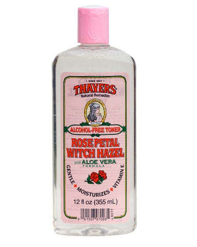 Nước Hoa Hồng   Thayers Alcohol-Free  Rose Petal Witch Hazel with Organic Aloe Vera Formula Toner  355ml