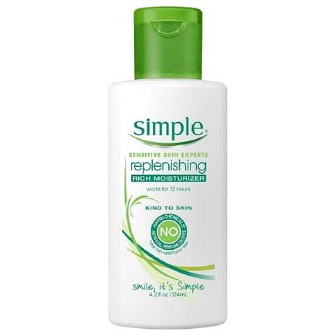 Kem Dưỡng Ẩm  Simple Replenishing Rich Moisturizer
