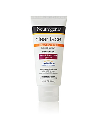 Kem Chống Nắng Mặt Neutrogena Clear Face Liquid-Lotion Sunblock SPF 55