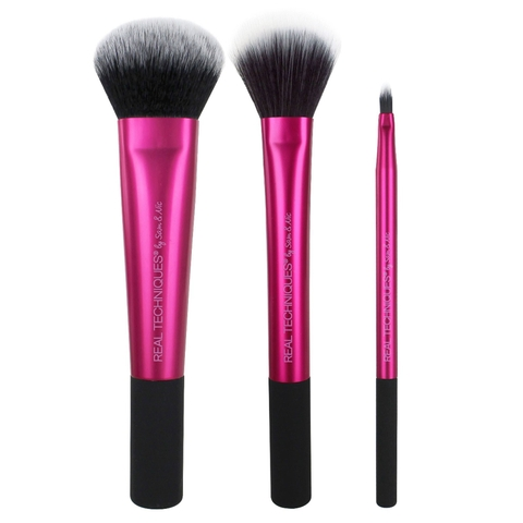 Bộ cọ real techniques finish cheek and lip set