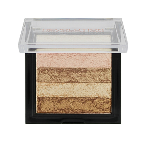 Phấn Hight Light - Tạo Khối Makeup Revolution Vivid Shimmer Brick - Radiant