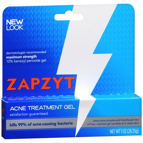 Gel Trị Mụn ZAPZYT Maximum Strength 10% Benzoyl Peroxide Acne Treatment Gel