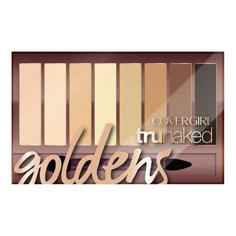 Phấn Mắt CoverGirl truNaked Eyeshadow, Goldens