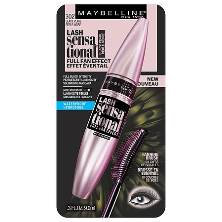 Maybelline Lash Sensational Waterproof Mascara Black Pearl