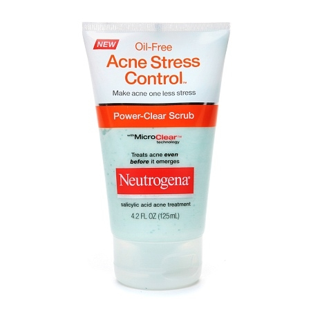Sữa Rửa Mặt Neutrogena Acne Stress Control Power-Clear Scrub