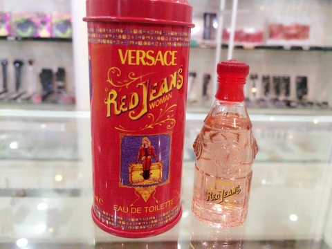 Red Jeans by Versace, 0.25 oz Mini EDT for Women