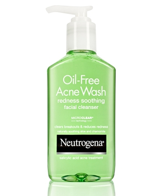 Sữa Rửa Mặt  Neutrogena Oil-Free Acne Wash Redness Soothing Facial Cleanser - 177ml