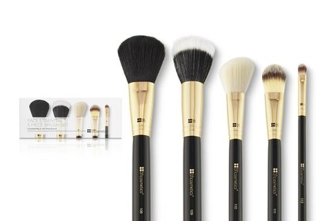 Bộ Cọ BH Cosmetic Face Essential - 5 Piece Brush Set