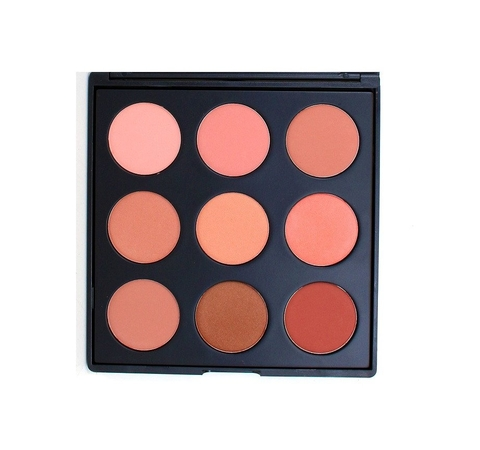 Bảng phấn má Morphe 9N - THE NATURALLY BLUSHED PALETTE