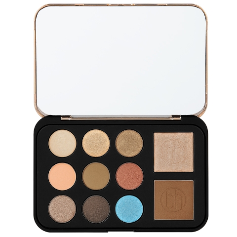 Bảng trang điểm BH Cosmetic Bronze Paradise - Eyeshadow, Bronzer & Highlighter Palette