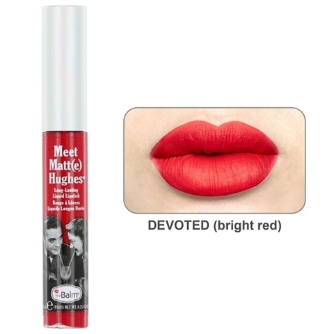 Son kem The Balm Meet Matt(e) Hughes® Long Lasting Liquid Lipstick - Devoted