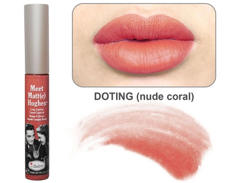 Son kem The Balm Meet Matt(e) Hughes® Long Lasting Liquid Lipstick -Doting